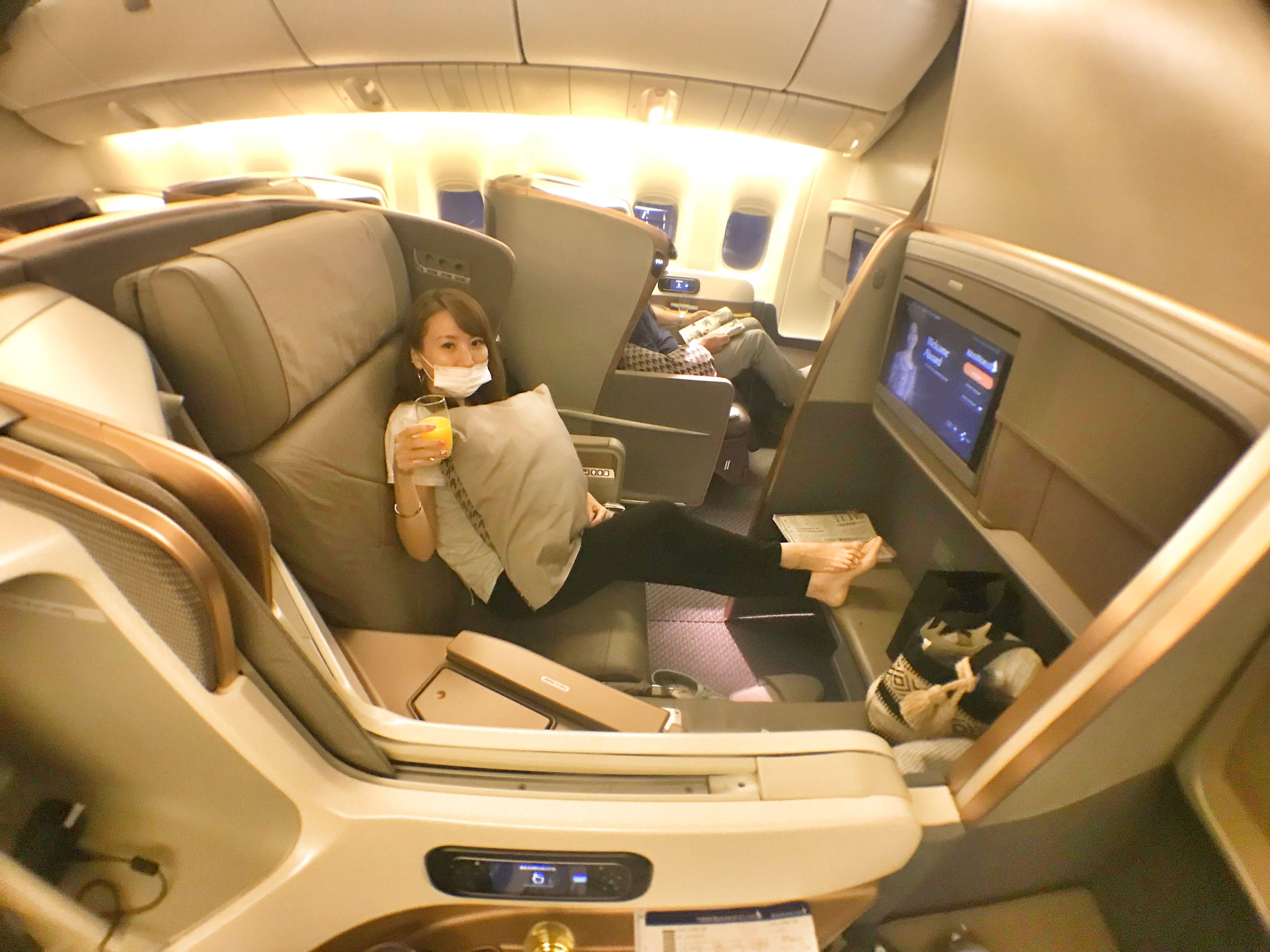 ANA、ユナイテッド航空、シンガポール航空 ビジネスクラス【初心者比較】